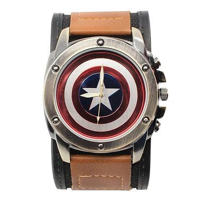 CAPITAN AMERICA - Reloj con correa graduable