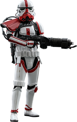 Incinerator Stormtrooper 1:6 Hot Toys The Mandalorian - Television Masterpieces