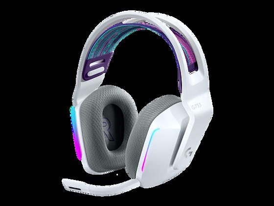 G733 AUDIFONO C/MICRO GAMER LIGHTSPEED WHITE  RGB LOGITECH G