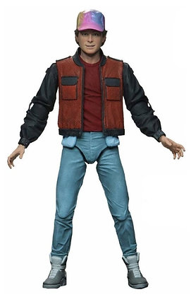 """MARTY MCFLY  - BTTF PART 2 - Ultimate NECA 7"""""""