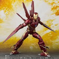 IRON MAN Mark 50 nano weapon set SHFiguarts Marvel BANDAI