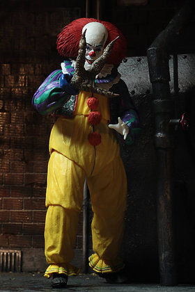 """IT 1990 Ultimate 7"""" Pennywise (Ver. 2) NECA"""