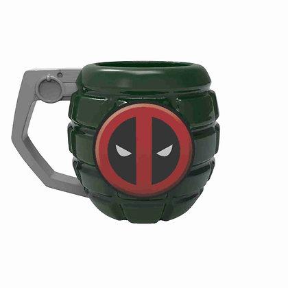 DEADPOOL Mug taza esculpida Marvel Comics ZAK!