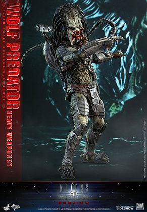 Wolf Predator Heavy Weaponry Aliens vs Predator Requiem 1:6 Hot Toys