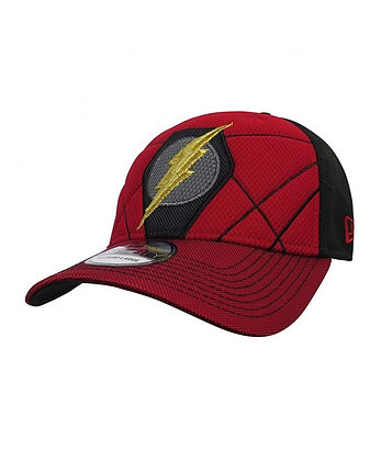 FLASH Logo Justice League Armor 39Thirty Fitted Small Medium NEW ERA