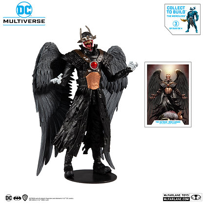 Batman Who Laughs with Sky Tyrant Wings-Metal-Collect to Build The Merciless MCF