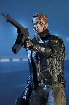 "T-800 Terminator - Ultimate Police Station Assault  - NECA 7"""