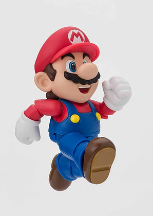 SUPER MARIO Brothers S.H.Figuarts Mario (New Package Ver.) BANDAI