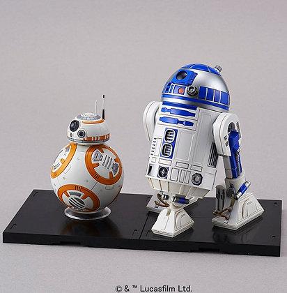 BB-8 & R2-D2 MODEL KIT 1/12 BANDAI