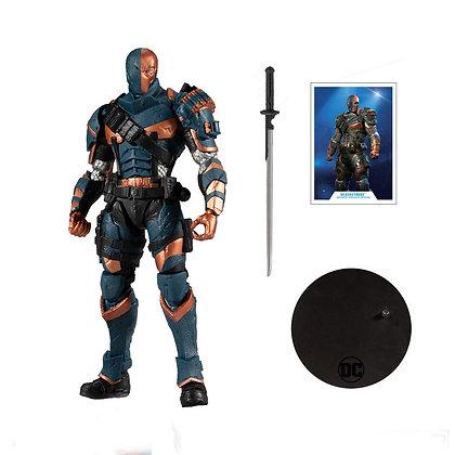 "Arkham Knight Deathstroke -  DC Multiverse - Gaming Series  - Mcfarlane Toys 7"""