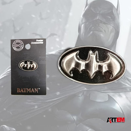 BATMAN logo pin lapel DC Comic MONOGRAM
