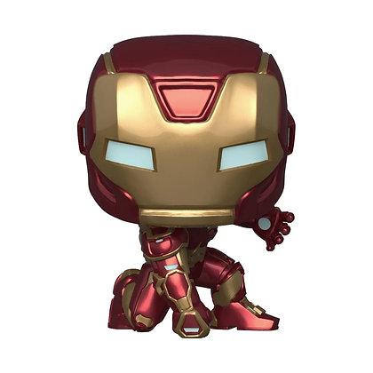 IRON MAN - Marvel's Avengers Game Iron Man Pop! Figura de vinilo FUNKO POP