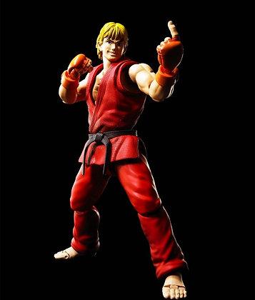 "Ken Masters ""Street Fighter"" S.H.Figuarts BANDAI"