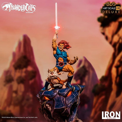 Lion-o & Snarf - Thundercats - BDS Art Scale 1/10 IRON STUDIOS