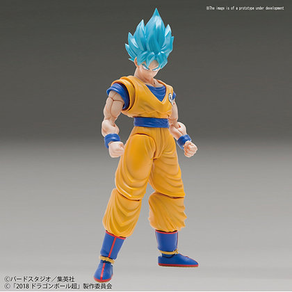 GOKU SSGSS Especial color Figure Rise BANDAI