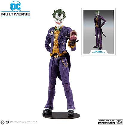 "Joker - DC Multiverse - Batman Arkham Asylum -  7"" , MCFARLANE"