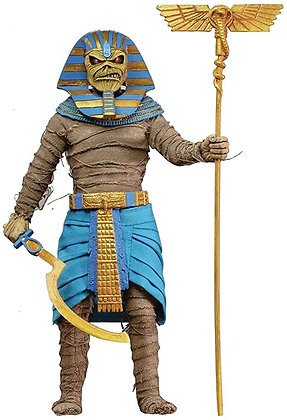 Pharaoh Eddie - Iron Maiden Power Slave Clothed Action 8″  NECA
