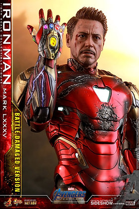 Iron Man Mark LXXXV (Versión dañada )  - AVENGERS END GAME 1:6 HOT TOYS
