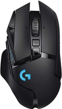 G502 MOUSE GAMER LIGTHSPEED WIRELESS BLACK 25K DPI LOGITECH