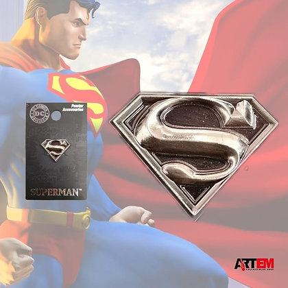 SUPERMAN Logo pin lapel DC Comics MONOGRAM