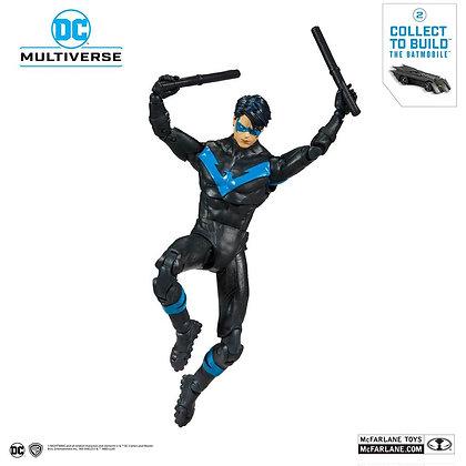 "Nightwing DC Rebirth DC Multiverse (DC Rebirth Build-A-Batmobile) Mcfarlane 7"""