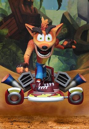 """Crash Bandicoot - Deluxe Hoverboard Crash - NECA 7"""""""