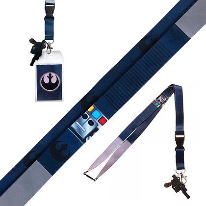 HAN SOLO Lanyard con llavero PVC Star Wars BIOWORLD