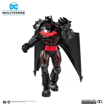 "Batman (Hellbat Suit) Batman y Robin DC Multiverse Mcfarlane 7"""
