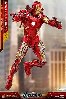 Iron Man Mark VII Hot Toys DIECAST - The Avengers - Movie Masterpiece Series