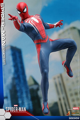 Spiderman Advanced Suit 1:6 Scale  Video Game Masterpiece Series Hot Toys