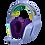 Thumbnail: G733 AUDIFONO C/MICRO GAMER LIGHTSPEED LILA RGB LOGITECH G