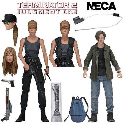 "Sarah Connor and John Connor - Terminator 2 - Ultimate  NECA 7"" 2-Pack"