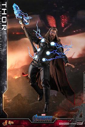 Thor 1:6 Escala Hot Toys Avengers: Endgame - Movie Masterpiece Serie