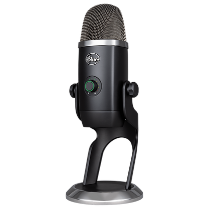YETI X PROFESIONAL GAMING, STREAMING Y PODCASTING - USB COLOR GRIS - BLUE