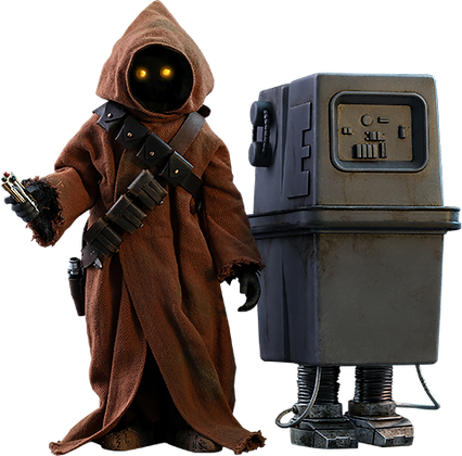 Jawa & EG-6 Power Droid 1:6 Hot Toys Star Wars Episode IV: A New Hope - Movie Ma