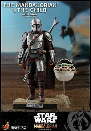The Mandalorian and The Child (Deluxe) televisión Masterpiece Series 1:6 HOT TOY