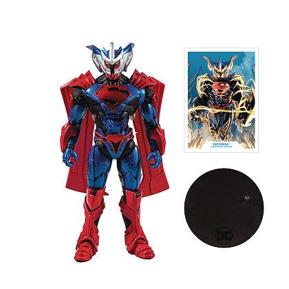 "SUPERMAN (Unchained Armor) Batman y Robin DC Multiverse Mcfarlane 7"""