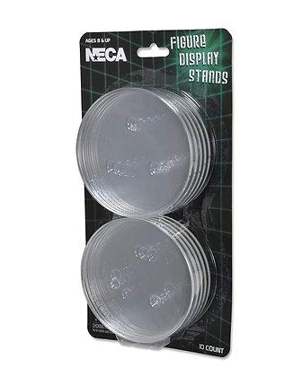 """DISPLAY base de apoyo para figuras NECA 7"""" y 8"""" (10 discos)"""