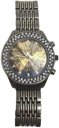 WONDER WOMAN Reloj de pulsera metálico DC ACCUTIME