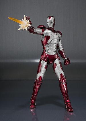 "IRON MAN Mark V And Hall Of Armor Set ""IRON MAN 2"" Bandai S.H.Figuarts"