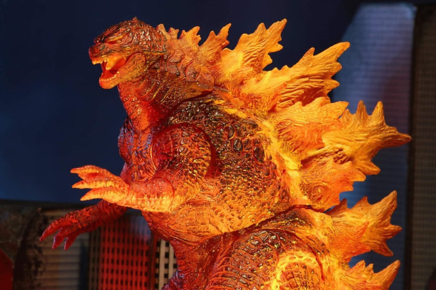"Godzilla King of the Monsters  V3 (2019) NECA ULTIMATE 12"""