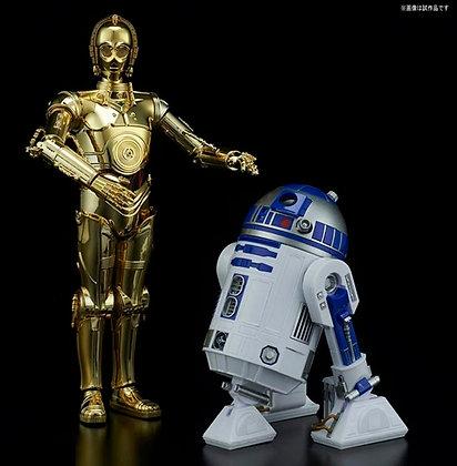 C-3PO & R2-D2 MODEL KIT 1/12 BANDAI
