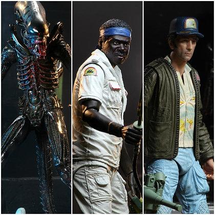 "Alien 40th Anniversary - Series 2 wave x3 (Brett, Parker, Xenomorph Bloody) - 7"""