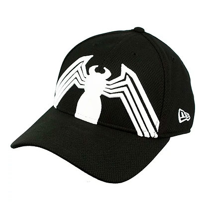 SPIDERMAN Black Suit Armor 39Thirty Fitted Small-Medium Gorra