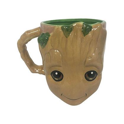 GROOT taza cerámica 3D MARVEL