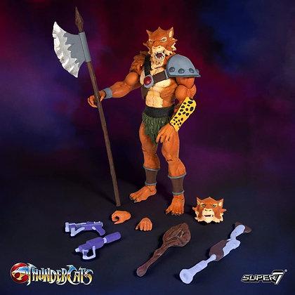 "Jackalman Thundercats Ultimate 7"" Super 7"