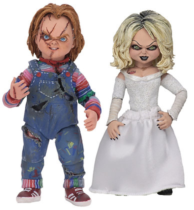"Bride of Chucky - Ultimate Chucky & Tiffany 2Ultimate 7"" NECA"