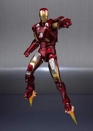 "Ironman Mk-7 And Hall Of Armor Set ""Marvel"" S.H.Figuarts BANDAI"