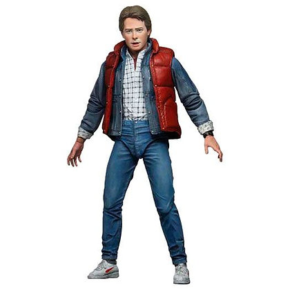 """MARTY MCFLY  - BTTF PART 1 - Ultimate NECA 7"""""""