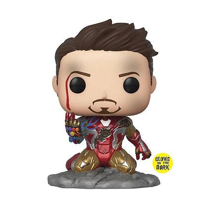 IRON MAN Avengers: Endgame I Am Iron Man Glow-in-the-Dark Deluxe Pop! FUNKO POP